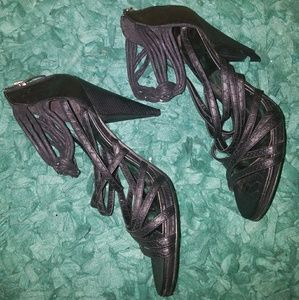 Baby Phat strappy heels